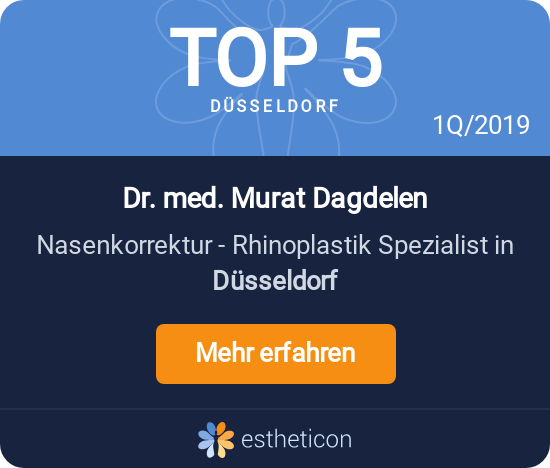 Top 5 Estheticon - Nasenkorrektur Rhinoplastik Spezialist in Düsseldorf